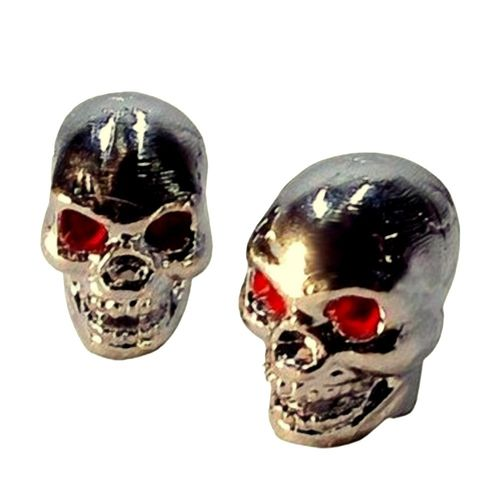 BOUCHONS DE VALVES Skull Chrome