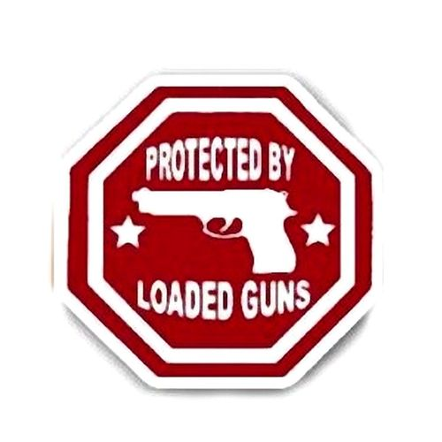 STICKER LOADED GUNS