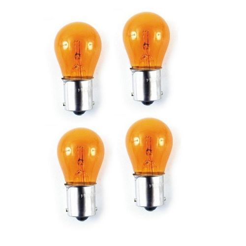 4 AMPOULES ORANGES SIMPLE FILAMENT