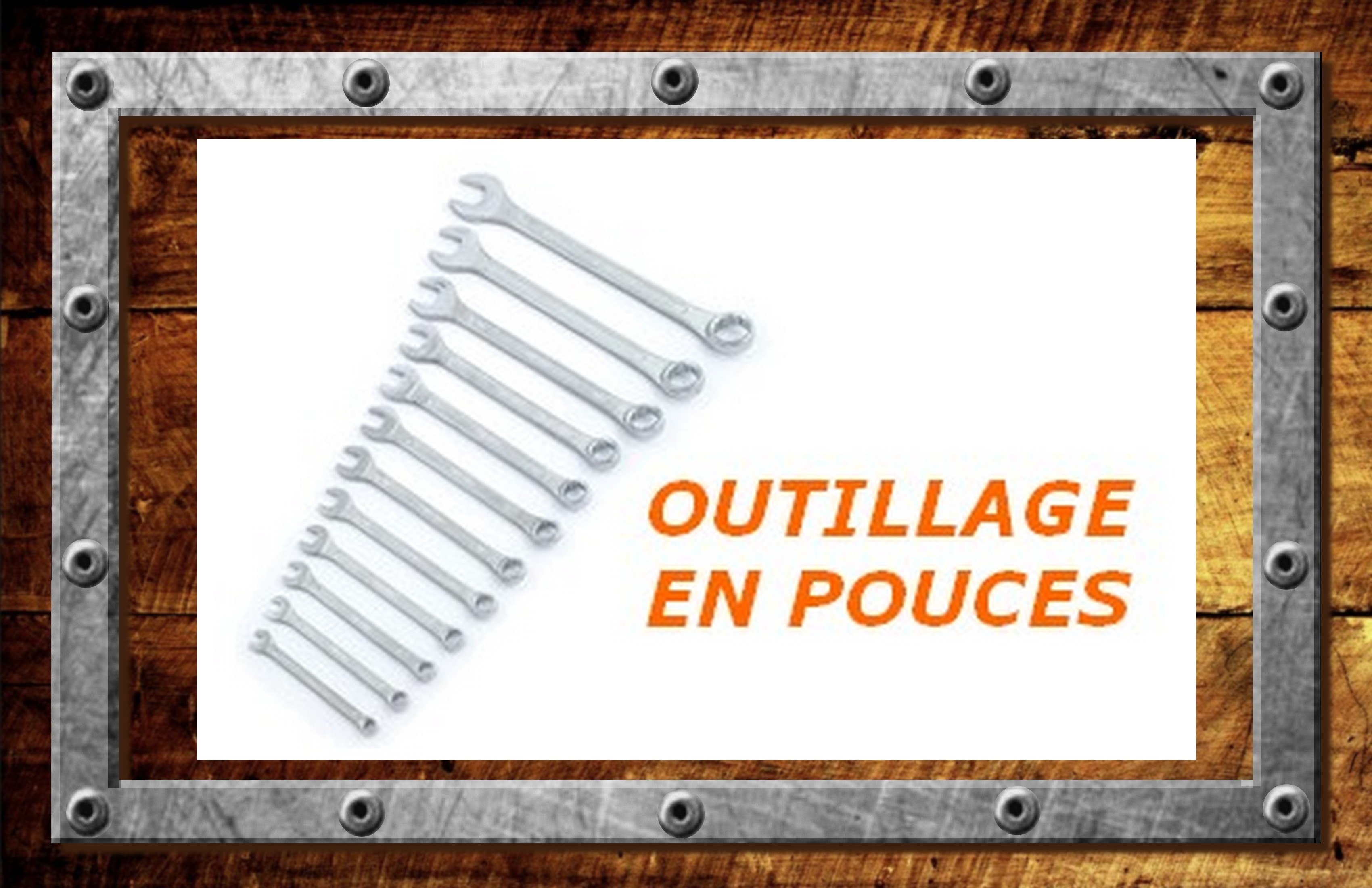 OUTILLAGE / ATELIER